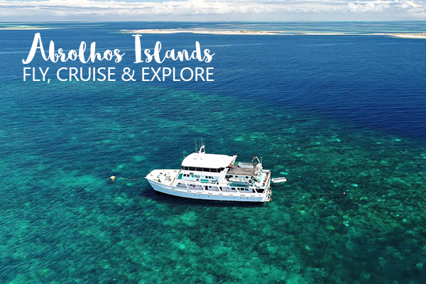 MC Header Eco Abrolhos Fly Cruise Package