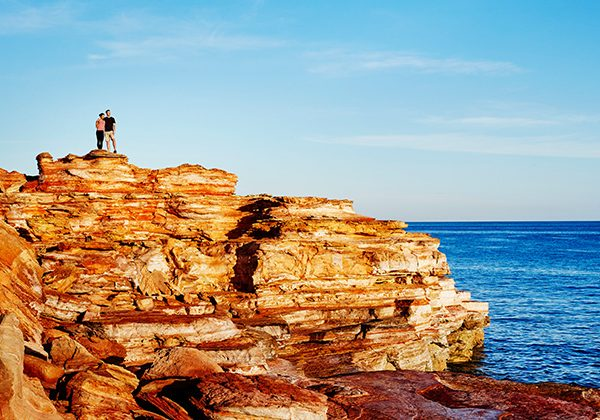 NEW WEB Gallery TWA 0006 113474 56 Gantheaume Point Broome Mandatory credit Tourism Western Australia