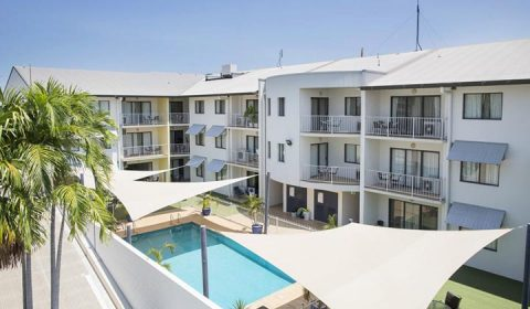 NEW WEBSITE Gallery 720 x 420 0006 Metro Advance Apartments Hotel Darwin Pool View 1024x682