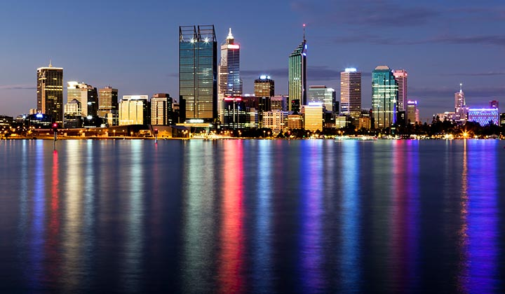 NEW WEBSITE Gallery 720 x 420 0007 Perth at Night 2