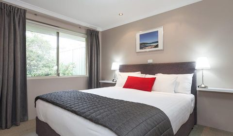 NEW WEBSITE Gallery 0004 Quality Banksia Gardens One Bed Excutive King Bedroom