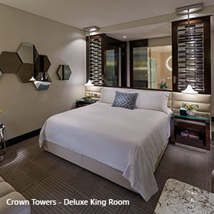 PER Crown Towers Deluxe King Room