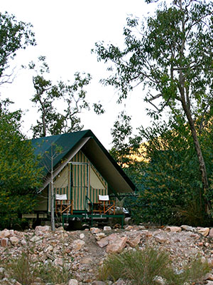 Emma Gorge Tented Cabin