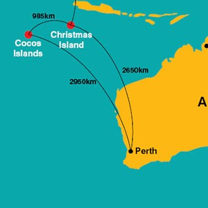 XCH   flight map