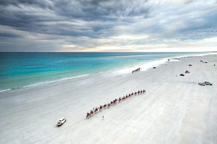 Aerial View Of Cable Beach